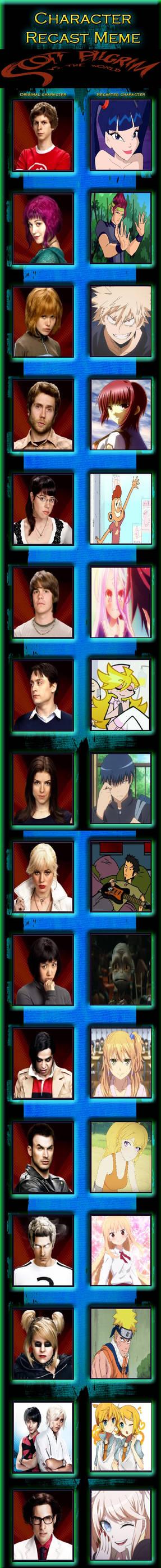 Scott Pilgrim VS The World Cast Meme