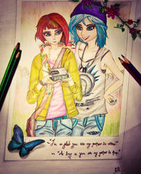 Max and Chloe by BumblebeeD13th
