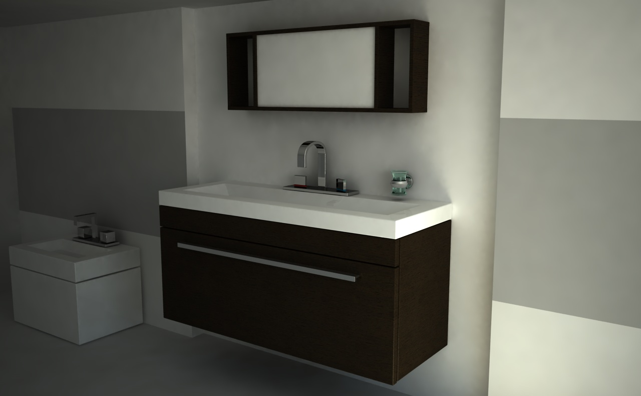 Bathrrom Design For Separate Sink And Tub Rooms Lock Location
