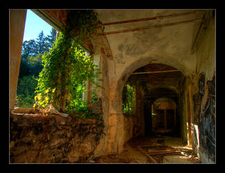 The Forgotten Tower by goranbanina
