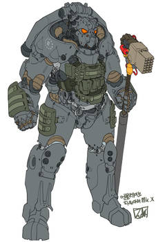 X-01 tactical power armor