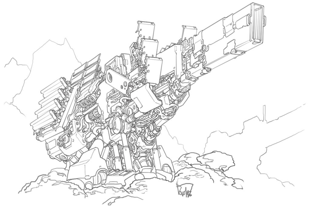 Jupiter Cannon by obokhan