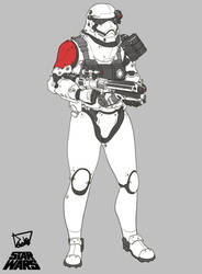 My version First order Trooper by obokhan