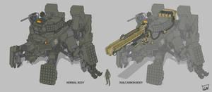 Multiple leg tank - SAHDU
