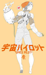 Space pilot by obokhan