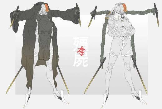 Chinese zombie