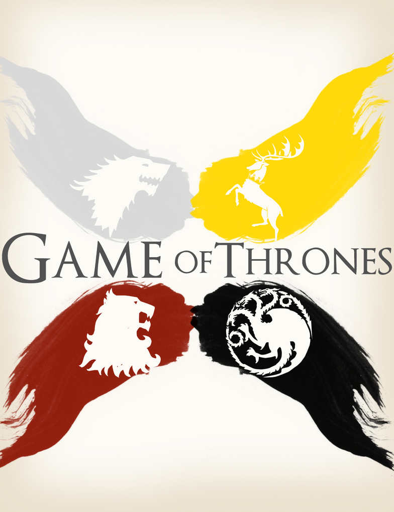 Game of thrones - 4 house by derro-ta on DeviantArt