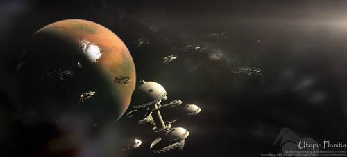 Utopia Planitia by ElementalCypress