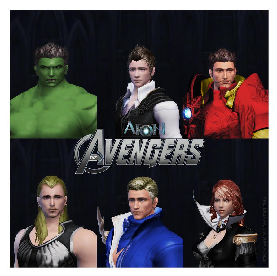 Aion: The Avengers by NaoHara