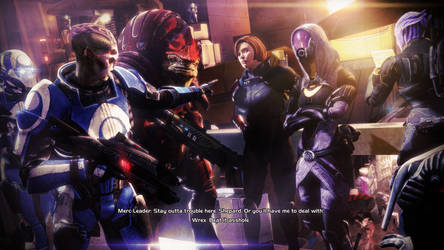 Watch Yourself, Shepard | Mass Effect by Urbanator
