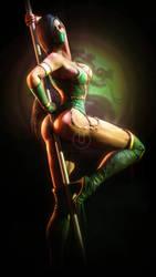 Jade   Mortal Kombat by Urbanator