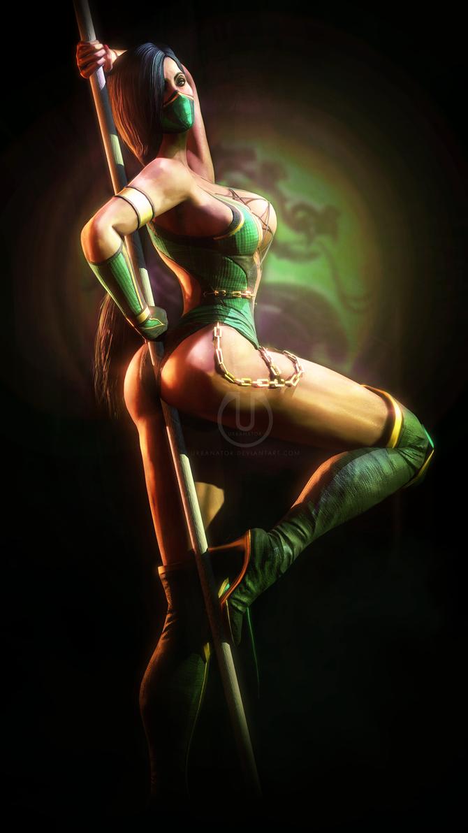 Jade | Mortal Kombat by Urbanator