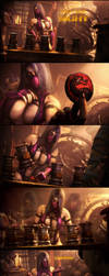 Testing Your Sight With Mileena by Urbanator