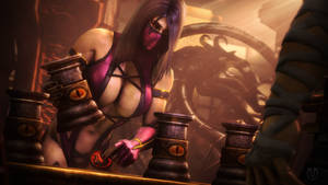 Testing Your Sight with Mileena 3
