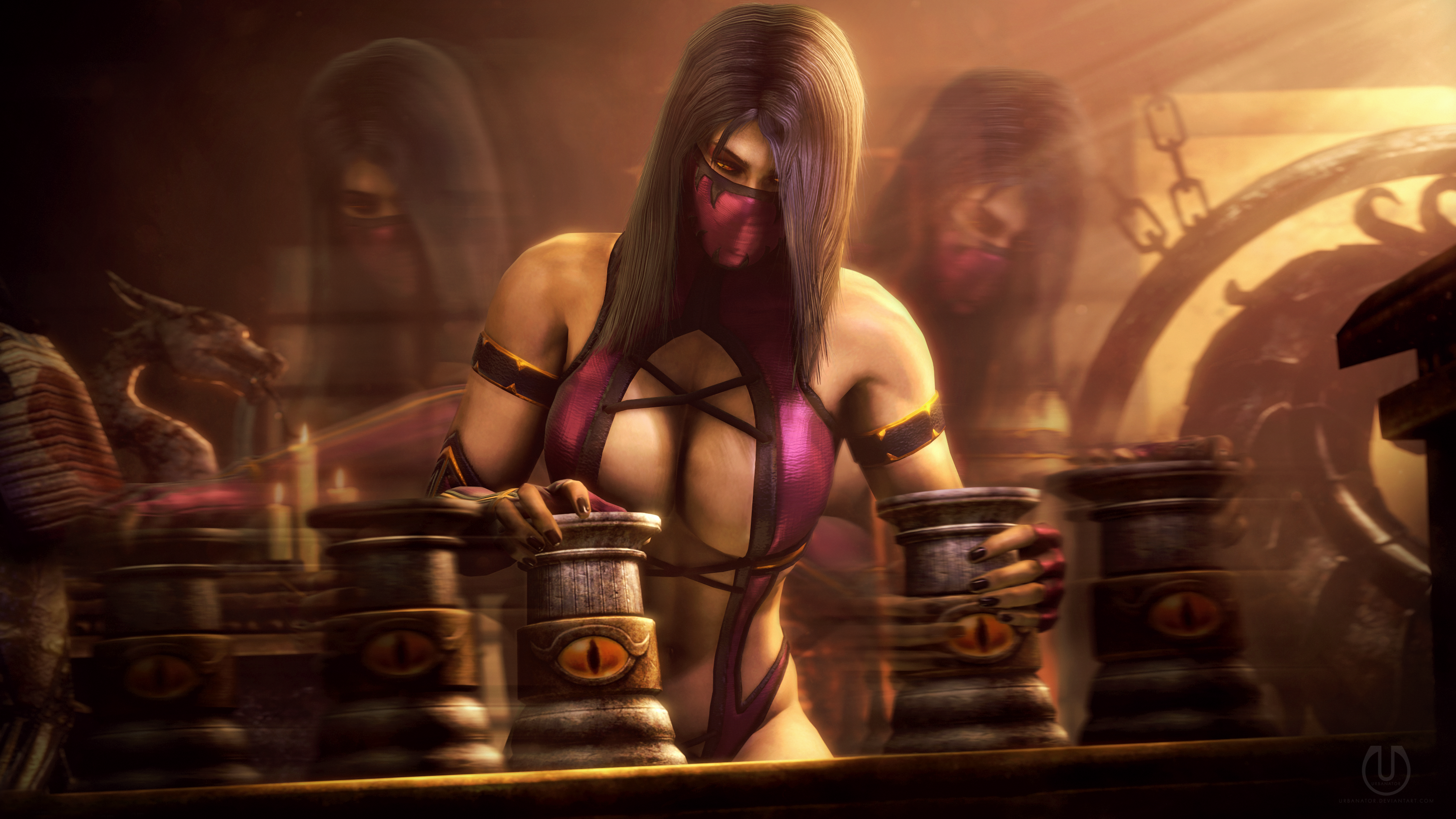 Testing Your Sight with Mileena 4 by Urbanator