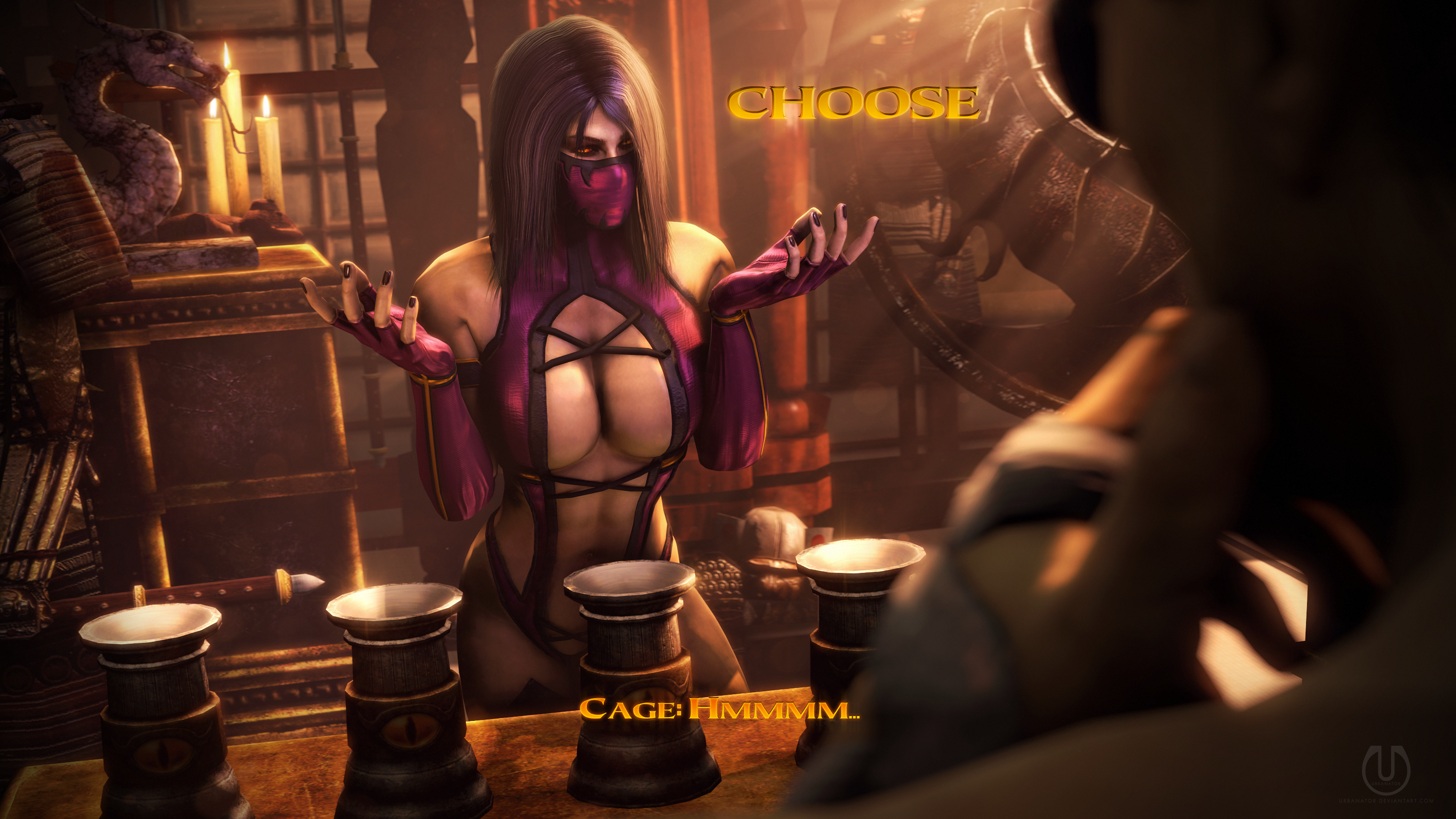 Testing Your Sight With Mileena 5 By Urbanator On Deviantart
