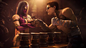 Testing Your Sight with Mileena 8