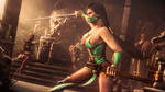 Sparring With Jade | Mortal Kombat