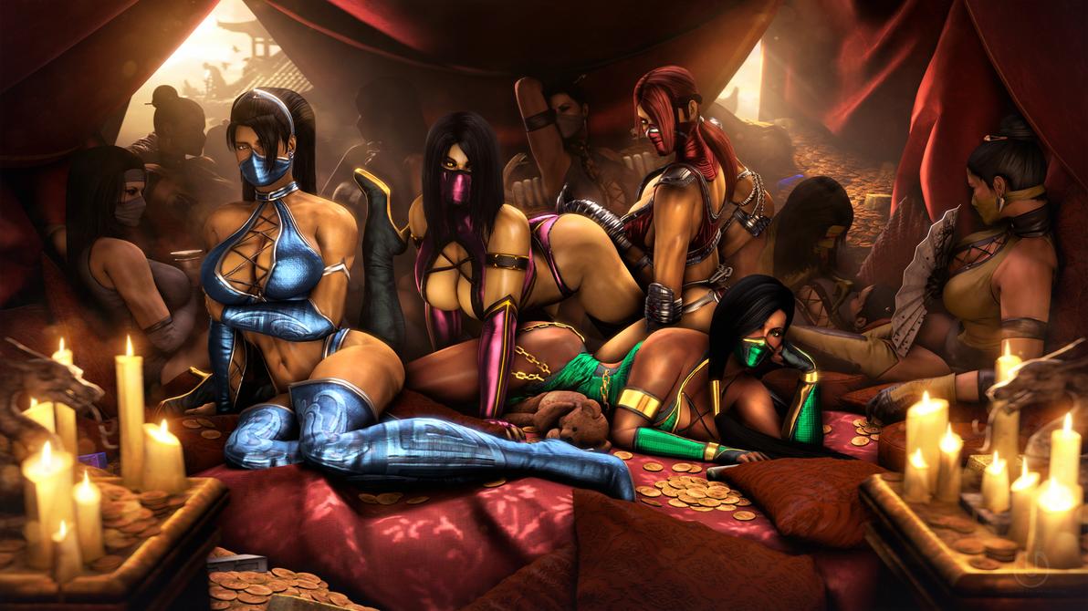 Mortal combat scarlett секс арты