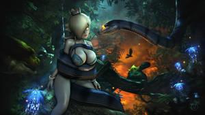 Rosalina and the Serpent | Nintendo