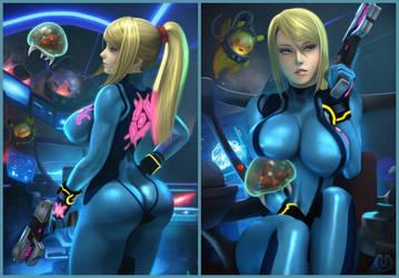 Zero Suit Appreciation   Nintendo by Urbanator