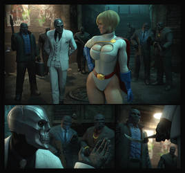 Powerful Girl, Dirty Deal   Batman by Urbanator