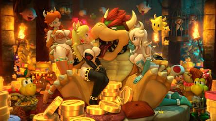 Bowser Babes   Nintendo by Urbanator