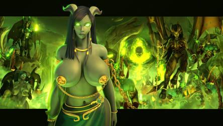 Draenei Slave Girl   Warcraft by Urbanator