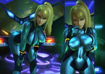 Zero Suit Admiration | Nintendo by Urbanator