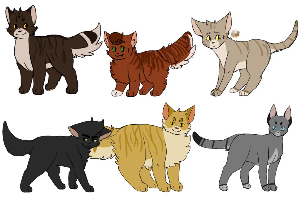 warrior cat designs by n2998 on deviantart