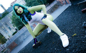 Shulkie on a Rooftop by mikomiscostumedworld
