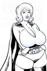 Blonde Marvel Work inProgress by darrellsan