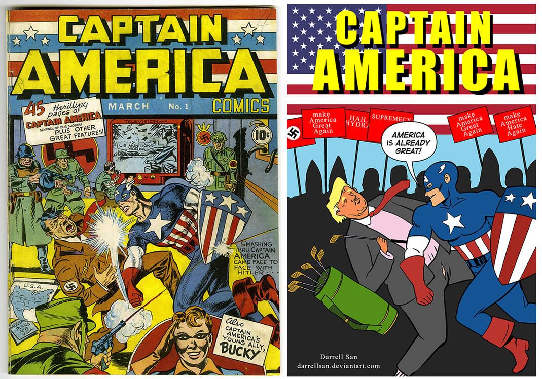 Captain America August 13, 2017