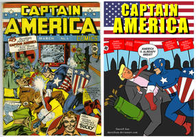 Captain America August 13, 2017 by darrellsan