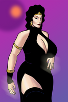 Evil Queen Redesign by darrellsan