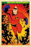Mister Incredible by darrellsan