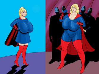 The Blonde Marvels by darrellsan