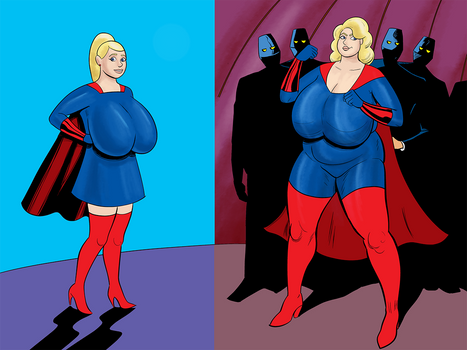 The Blonde Marvels by darrellsan