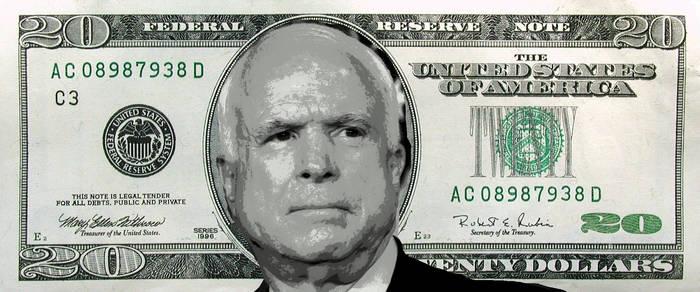 McCain $20