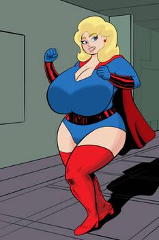 The Blonde Marvel