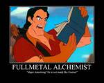 Gaston Reads Fullmetal Alchemist