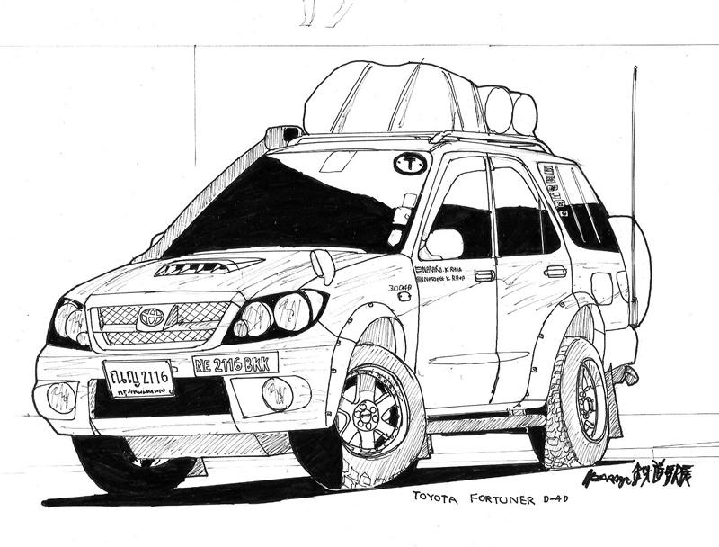 Toyota Fortuner By Ngarage On DeviantArt