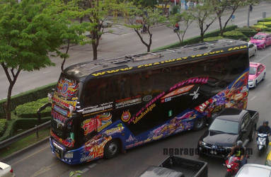 The VIP Scania bus by ngarage