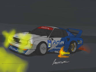 Celica LB race car by ngarage
