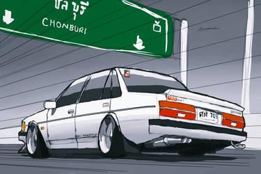Naomi's Cressida :Go to Chonburi by ngarage