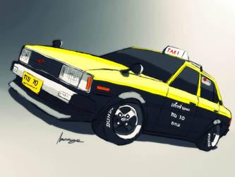 KE Taxi by ngarage