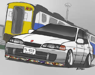 Integra Sedan by ngarage
