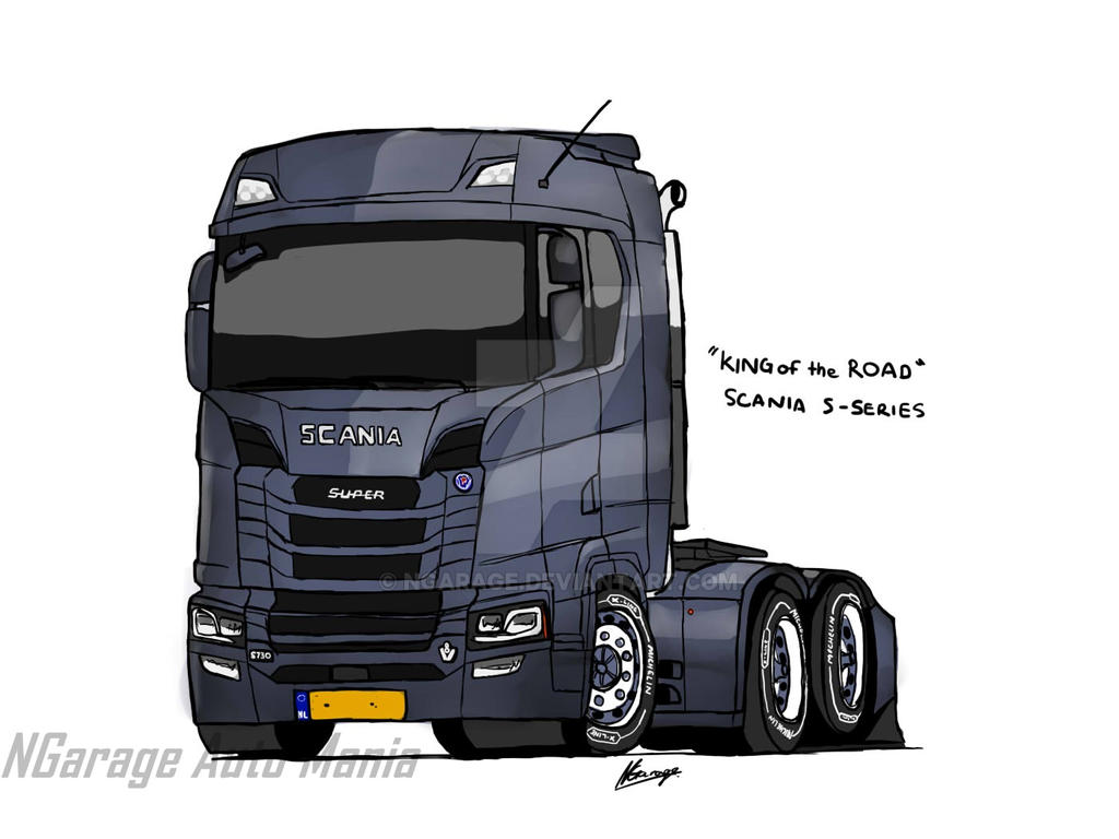 next gen scania s series by ngarage on deviantart. Black Bedroom Furniture Sets. Home Design Ideas