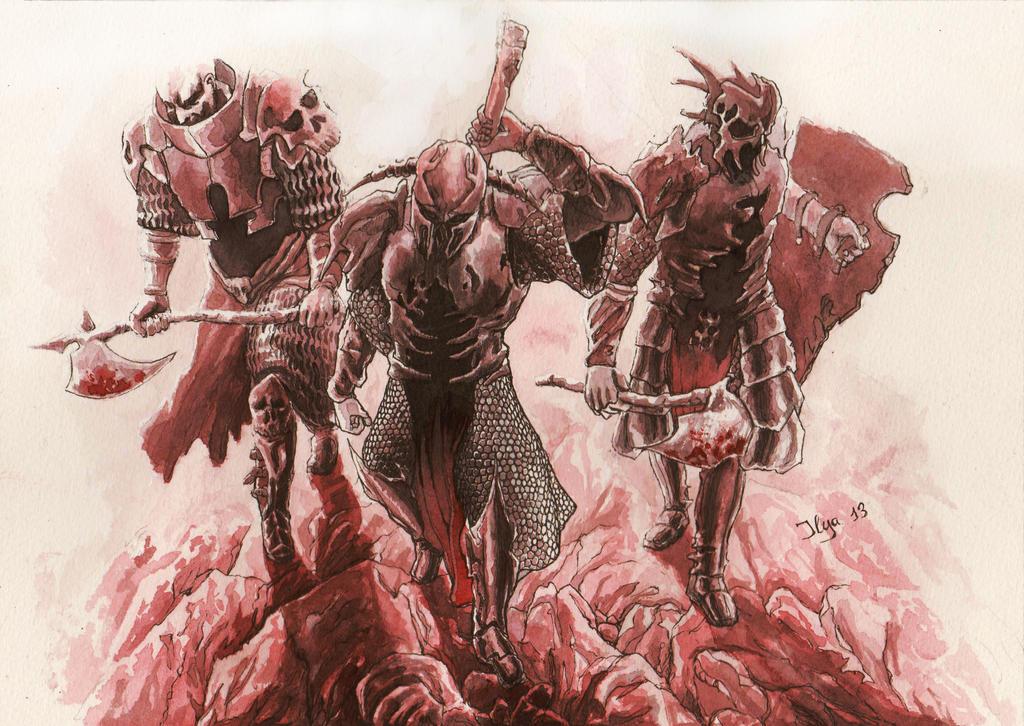 Path Of Blood by AlexSvartengel