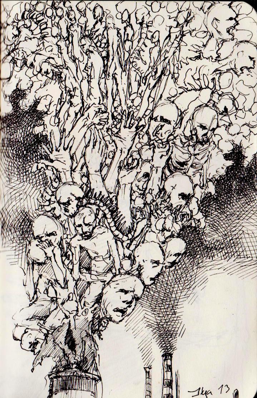 Global Warming - sketch by AlexSvartengel
